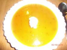 Kürbis-Möhrencremesuppe - Rezept - Bild Nr. 2