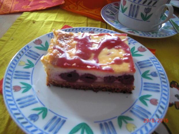 Kirschkuchen Vom Blech Rezept Mit Bild Kochbar De