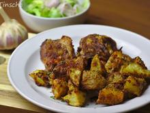 Knusprige Parmesan-Knoblauch-Kartoffeln - Rezept - Bild Nr. 6429