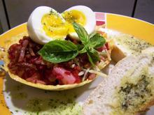 Salat anders, mit rotem Reis.... - Rezept - Bild Nr. 6430