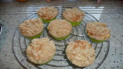 Rezept: Apfelstreuselmuffin