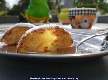 Oma Löffel`s Kuchen = Apfelpfannkuchen im Ofen gebacken - Rezept - Bild Nr. 6477