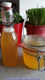 Rezept: Biggi`s Spezial = Fermentiertes Wasser (aus eigener Herstellung)