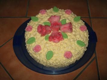 Buttercreme-Torte - Rezept - Bild Nr. 6491