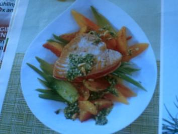 Thunfisch mit Dill-Orangenpesto - Rezept