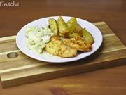 Hähnchenschnitzel mit Countrykartoffeln & Blumenkohl - Rezept - Bild Nr. 2