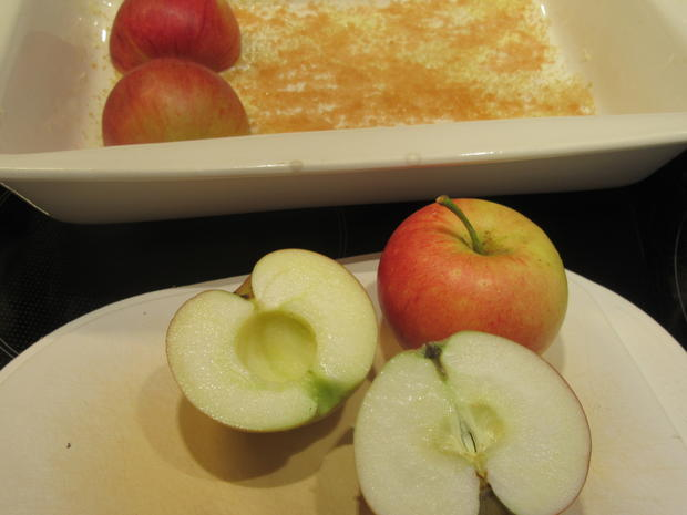 Dessert: Bratapfeleis und Eispralinen - Rezept - Bild Nr. 6588