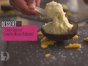 Rezept: Roti-Pancake und Kokos-Minz-Sorbet