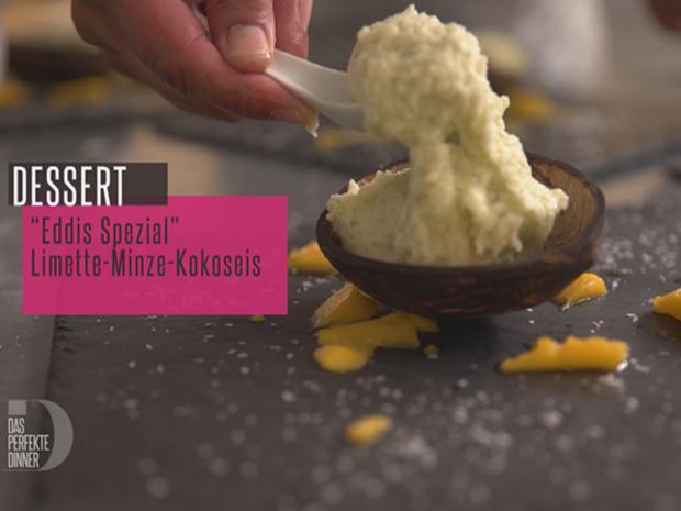 Roti-Pancake und Kokos-Minz-Sorbet - Rezept - Bild Nr. 2