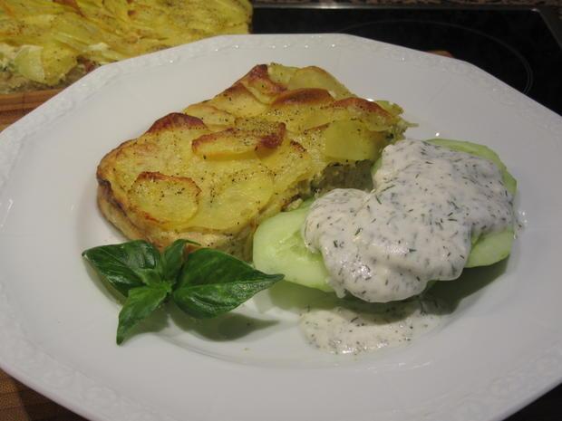 Pikantes Backen: Lauch-Kartoffel-Kuchen - Rezept - Bild Nr. 6615