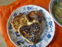 Apfelkücherl und Hühnersuppe mit Nudeln - Rezept - Bild Nr. 6602