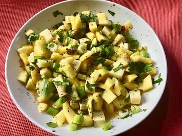 Mango-Salat mit Käse - Rezept - Bild Nr. 6616