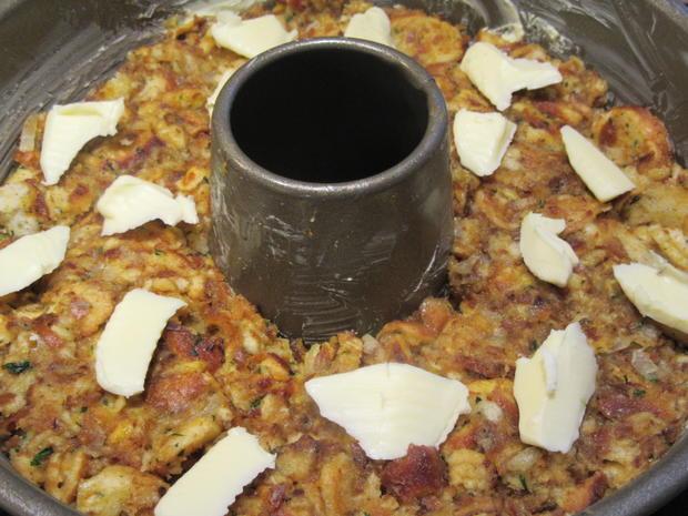 Fleisch: Gebackene Weißwurst mit Brez´nknödeln und Senfsoße - Rezept - Bild Nr. 6611