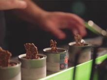 Craft-Bier-Sorbet mit Motorölaufguss und Knuspermalz - Rezept - Bild Nr. 2