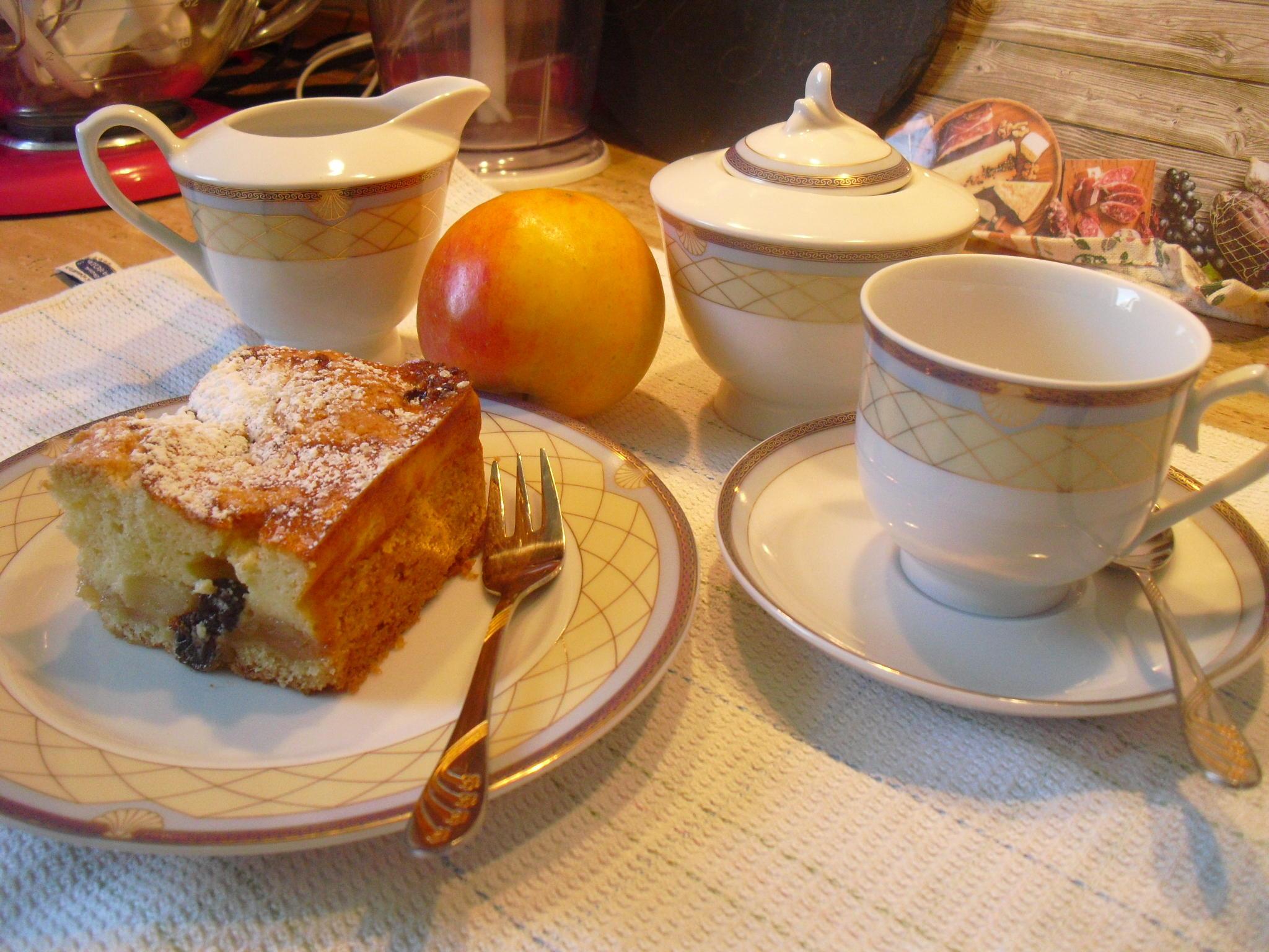 Apfel-Quark- Kuchen - Rezept von Schmetterling4