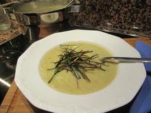 Suppen: Topinambur-Lauch-Suppe - Rezept - Bild Nr. 6624