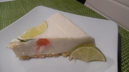 Limetten-Cheese-Cake...umgedreht - Rezept - Bild Nr. 6624