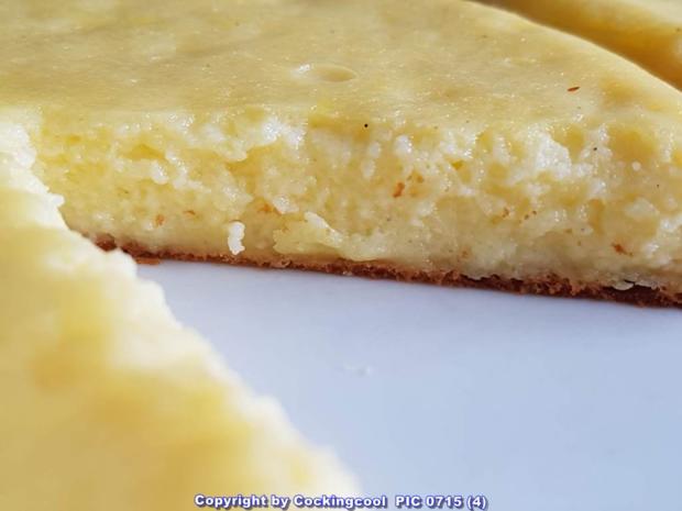 Oma Loffel S Kuchen Eier Quark Kuchen Fast Ein Souffle Rezept