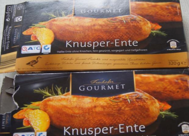 Ente auf Gemüsebett mit Erdnusssauce, Champignons und gelber Basmatireis - Rezept - Bild Nr. 3