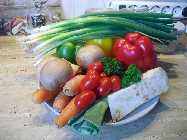 Gemüse Paste - Rezept - Bild Nr. 6639