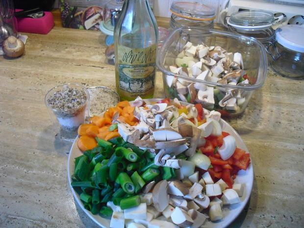Gemüse Paste - Rezept - Bild Nr. 6640