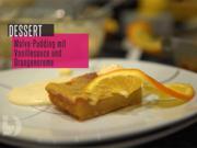 Malva-Pudding mit Vanillesoße und Orangencreme - Rezept - Bild Nr. 2