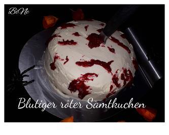 BiNe` S BLUTIGER ROTER SAMTKUCHEN - Rezept - Bild Nr. 6644