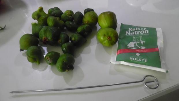 Karamellisierte grüne Baby-Feigen - Rezept - Bild Nr. 6647