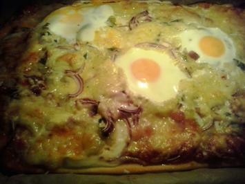 Rezept: Pizza, handmade