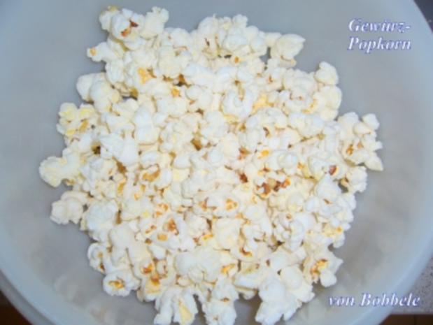 Snack: Gewürz-Popcorn - Rezept