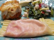 Verschiedene Gemüsesorten  und etwas Pastateig - Rezept - Bild Nr. 6671