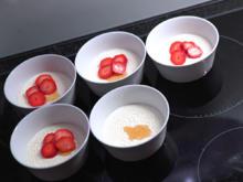Malabi mit Rosenwasser und Erdbeeren - Rezept - Bild Nr. 2