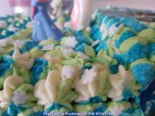 Viki`s Geburtstagstorte 2018 (ist eine Elsa oder Frozen Torte) - Rezept - Bild Nr. 6658