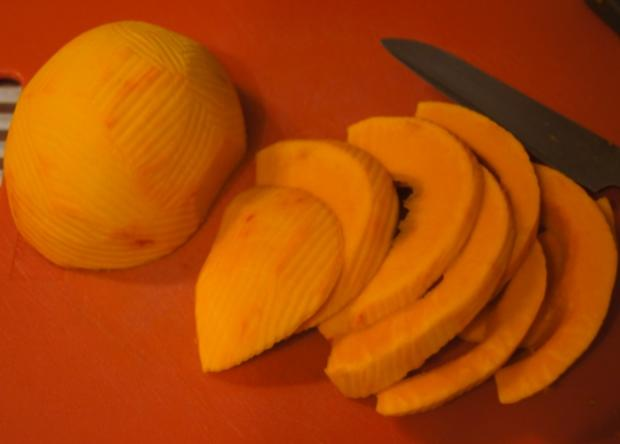 Kürbis-Gemüse-Eintopf mit Schinkenwürfeln - Rezept - Bild Nr. 6665