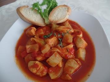Tomatensuppe mit Hähnchen - Rezept - Bild Nr. 6683