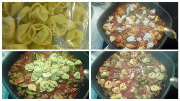 Tortelini - Bolognese - Rezept - Bild Nr. 6691