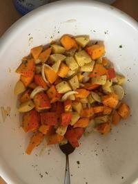 Kürbis-Kartoffel-Blech - Rezept - Bild Nr. 6692