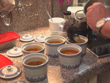 Rezept: Fleischbällchen im Reismantel mit Suan-La-Tang-Suppe