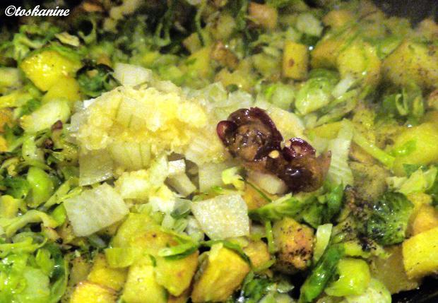 Kartoffel-Rosenkohl-Frittata - Rezept - Bild Nr. 6723