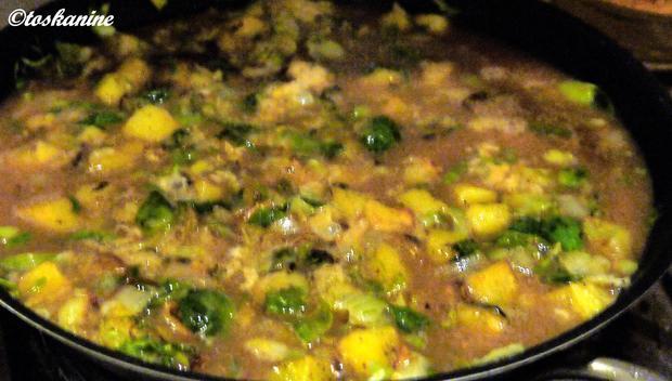 Kartoffel-Rosenkohl-Frittata - Rezept - Bild Nr. 6724