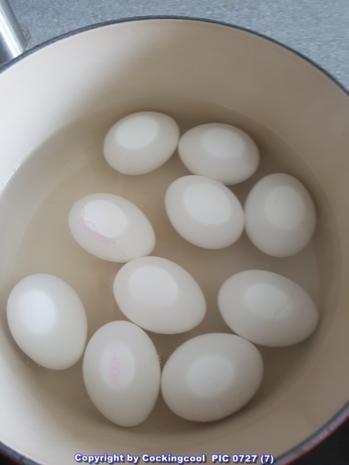 Eier in Honig-Senfsosse - Rezept - Bild Nr. 6723