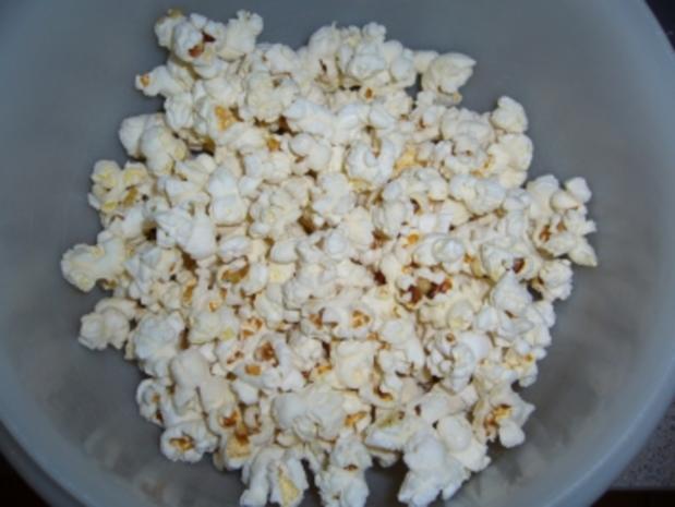 Snack süß: Popcorn badet in Schokolade - Rezept - Bild Nr. 4