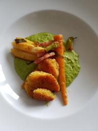 Biggi´s Fisch = Seeteufel (paniert) mit diversen Beilagen - Rezept - Bild Nr. 6738