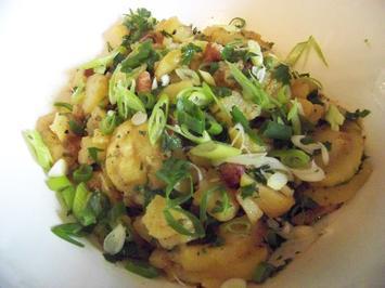 Rezept: Oma`s Kartoffelsalat gepimpt mit Rosmarin