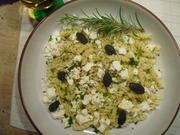 Nudeln,Feta, echte schwarze Oliven mit Kern u. Thymian - Rezept - Bild Nr. 6714