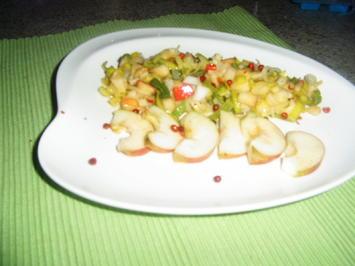 Apfel-Lauchsalat - Rezept - Bild Nr. 6719