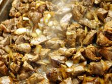 Keilergulasch mit Hinterodenwälder Pilzen - Rezept - Bild Nr. 5