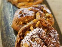 Gebäck: Zimtschnecken mit Feigen-Apfel-Füllung - Rezept - Bild Nr. 2