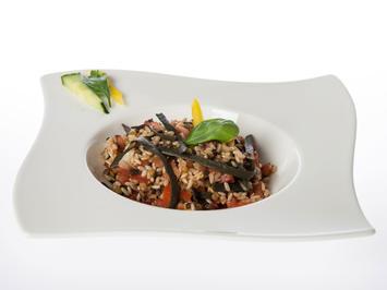 Rezept: Algensalat mit Reis, Linsen und Meeresspaghetti