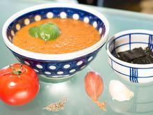 Frische Tomatensuppe mit Wakame Algen - Rezept - Bild Nr. 6760